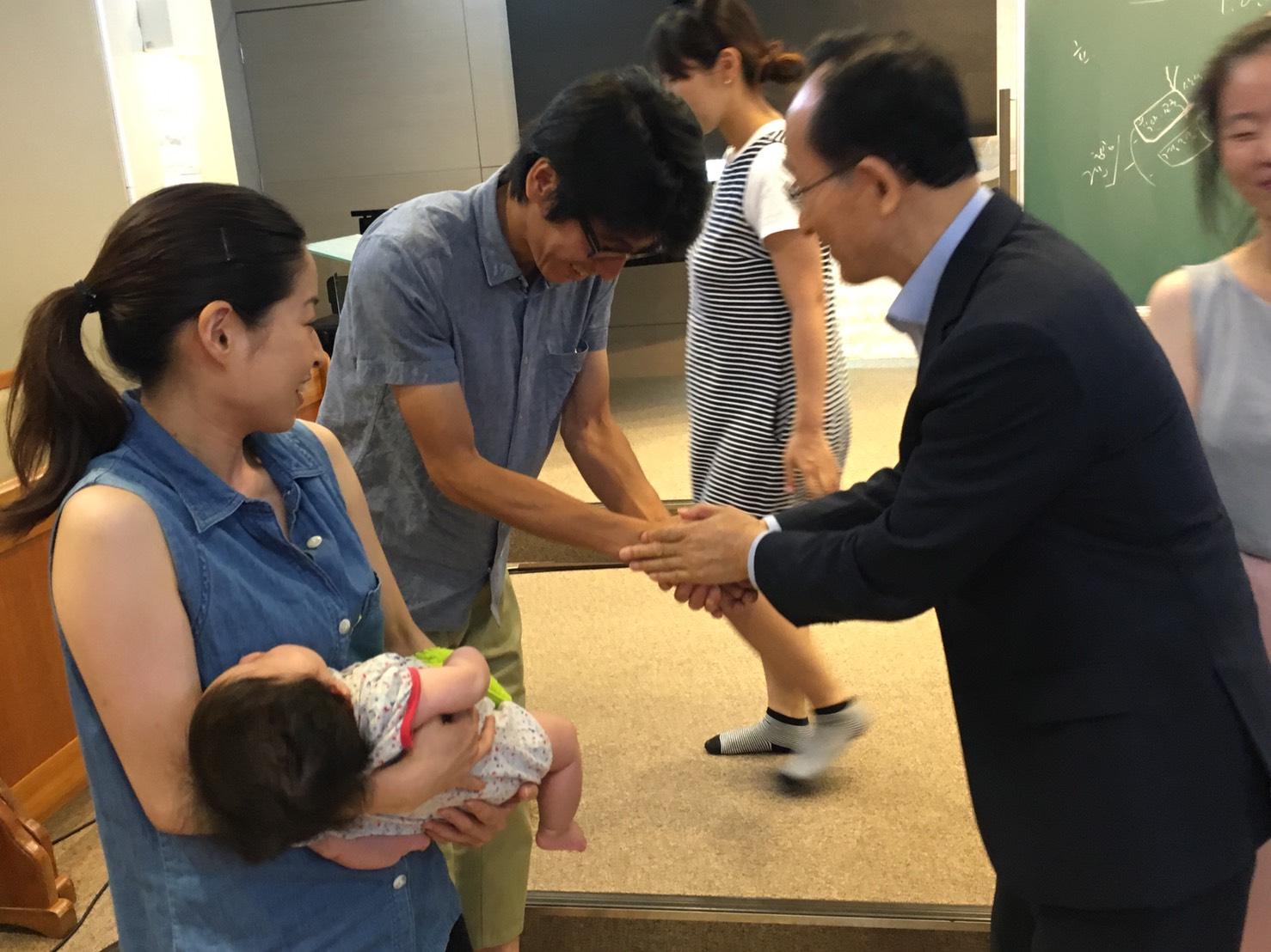 胎幼児修練会の講義を行いました。